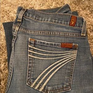7 for all man kind jeans - size 30